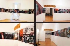 Allestimento mostra Cambialamore nella galleria Salon Privè a Roma 2004